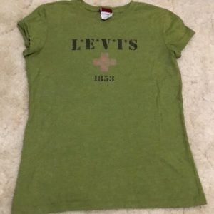 VINTAGE RED TAG LEVIS WOMENS T-SHIRT SIZE SMALL